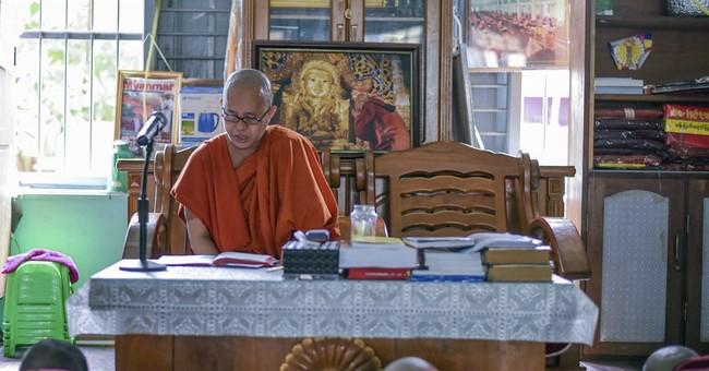 Anti-Muslim Buddhist monk in Myanmar: Trump 'similar to me'
