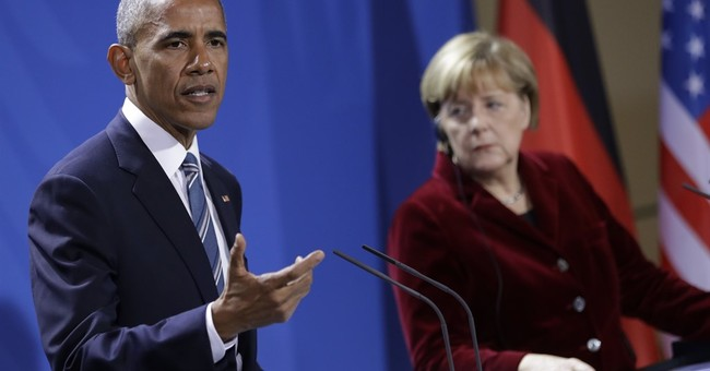 The Latest: Obama won't tell US protesters to be silent