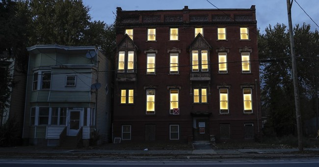 Light blight: Art project breathes life into empty buildings