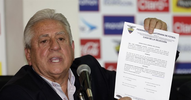 Ex-Ecuador soccer president convicted in FIFA graft case