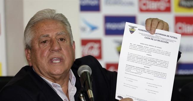 Ex-Ecuador soccer president convicted in FIFA graft case