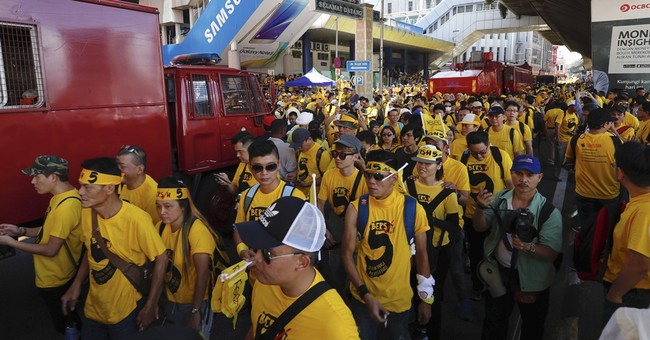 Thousands rally calling on Malaysian prime minister to quit