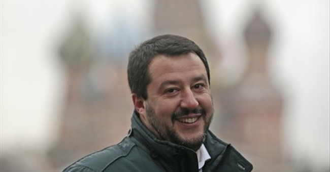 Italian rightwing politician visits Moscow