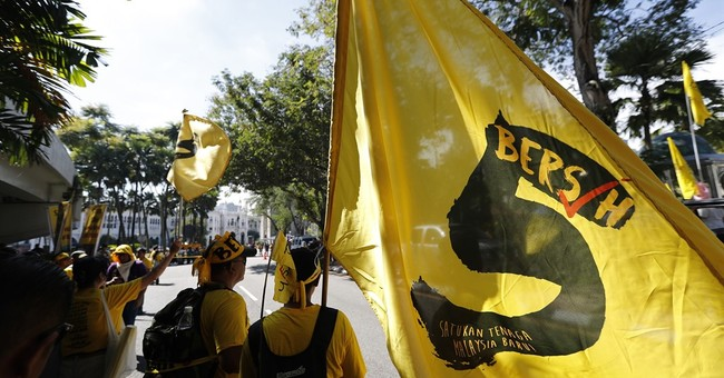 Thousands hold anti-PM rally in Malaysia; 15 detained