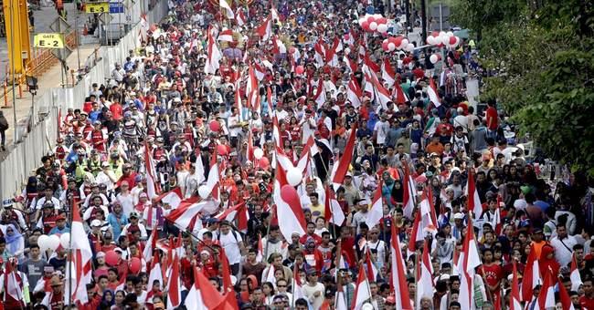 Jakarta rally calls for tolerance after blasphemy probe
