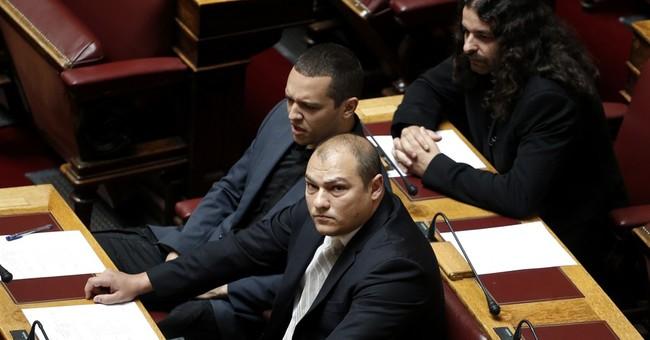 Far-right Greek lawmaker attacked, slightly injured