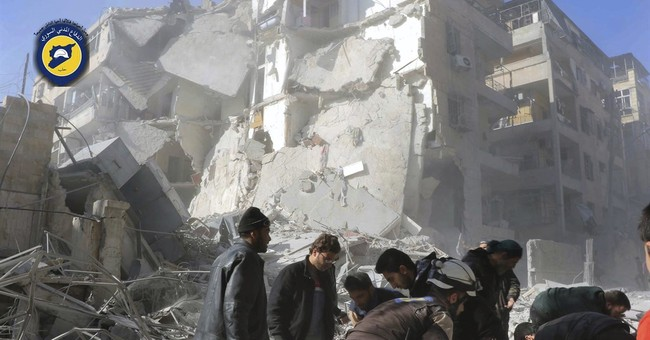Activists: Intense bombing of Syria's Aleppo kills 20