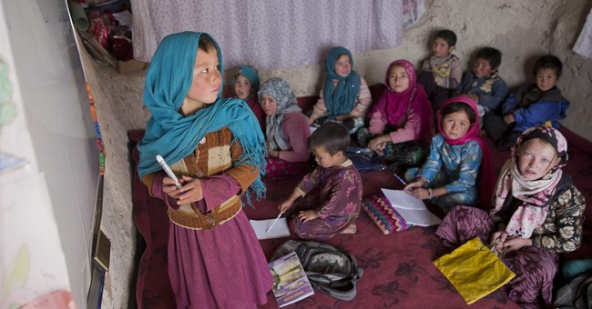 Afghan cave dwellers brace against a shifting landscape