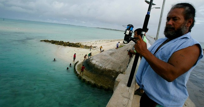 Pacific nation of Kiribati establishes large shark sanctuary