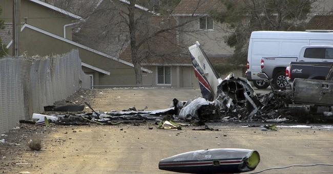 4 killed in crash of air-ambulance flight in northern Nevada
