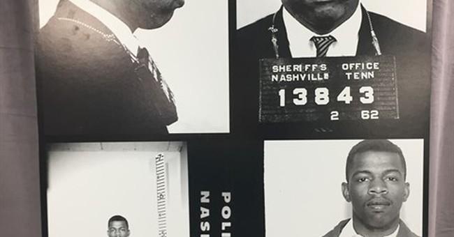 Nashville arrest records, photos of civil rights icon found
