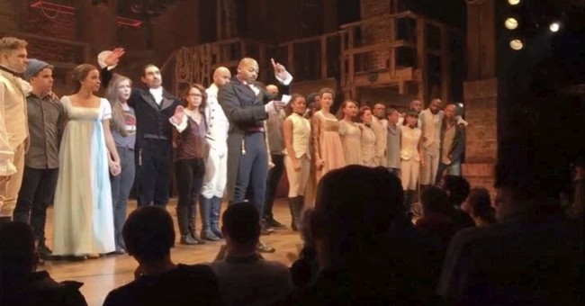 'Hamilton' actor: 'There's nothing to apologize for'