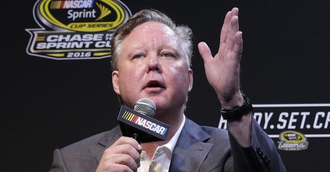 France won't talk Trump support as NASCAR closes season