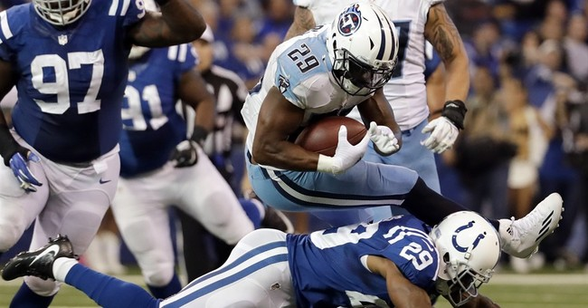 Colts get fast start and hold off charging Titans 24-17