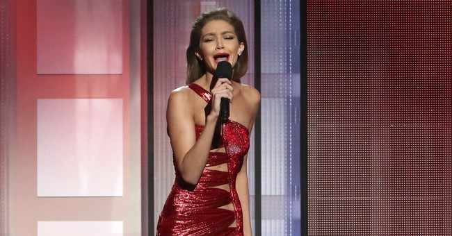 Gigi Hadid apologizes for Melania Trump impression at AMAs