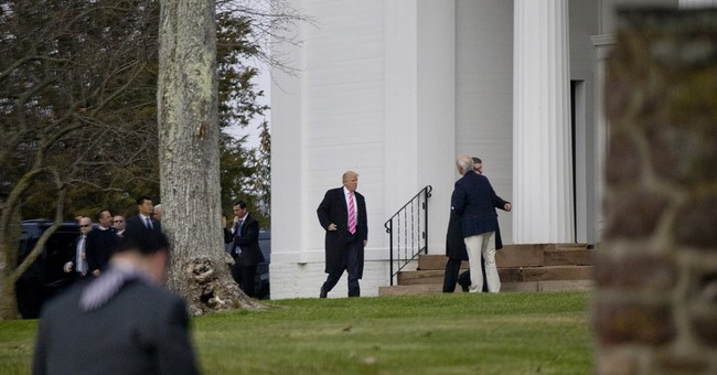 The Latest: Christie, Trump meet; Christie prospects unclear