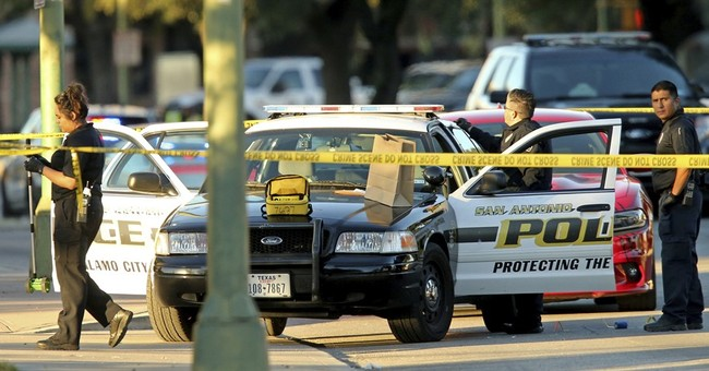 Latest: Arrest brings relief to Texas police force