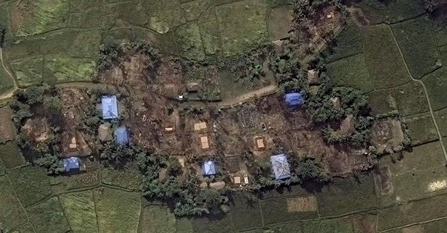Satellite images reveal destruction in Rohingya villages