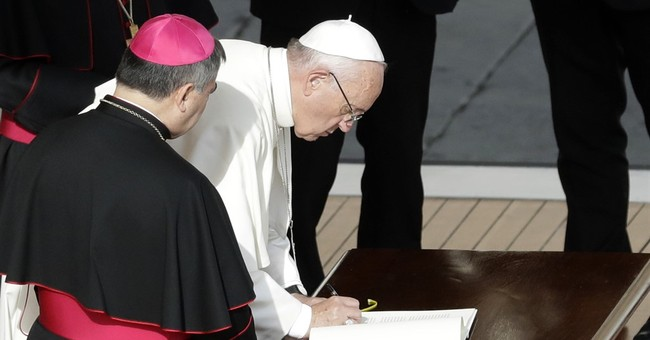 """Pope allows all priests to absolve """"grave sin"""" of abortion"""