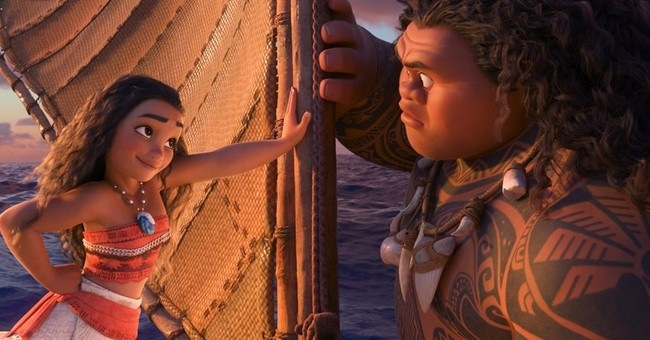 Review: Set sail with the spirited, familiar 'Moana'