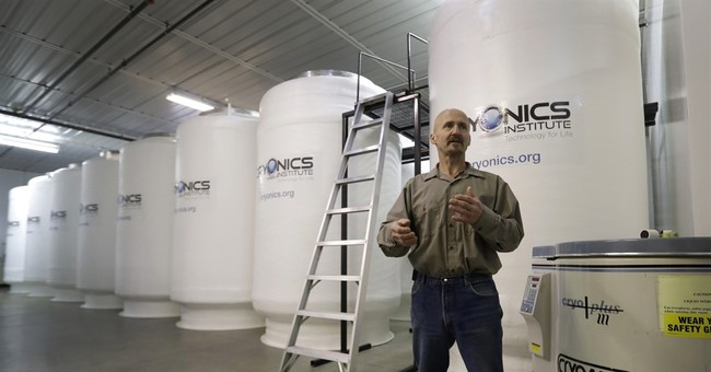 London girl's remains cryogenically preserved in Michigan