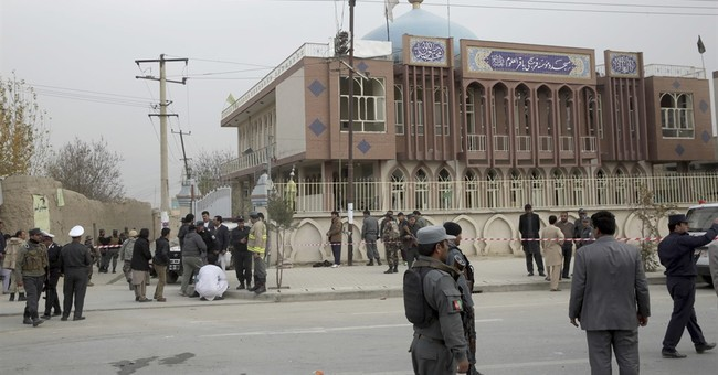 Suicide bomber targets Shiite mosque in Kabul, killing 32