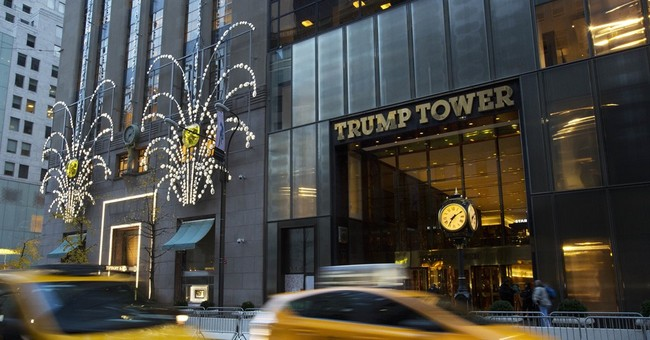 Trump Tower: President-elect HQ and a political sideshow