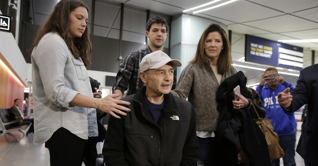 Ex-Speaker freed from prison, returns to Massachusetts