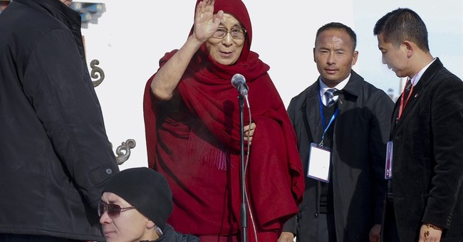 """Dalai Lama: """"I have no worries' about Trump's election"""