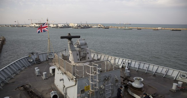 British warship docks in Israel at time of rising tensions