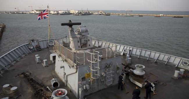 British warship docks in Israel at time of rising tensions