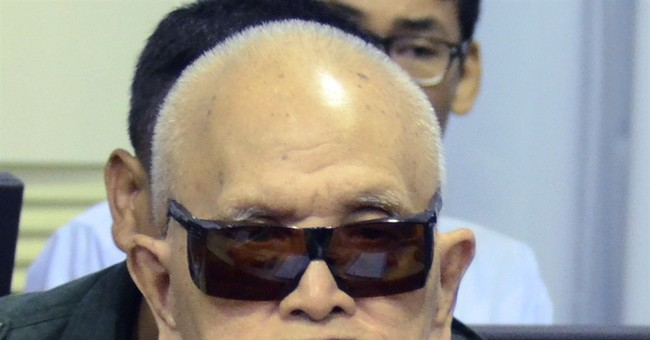Cambodian court upholds life terms for 2 Khmer Rouge leaders