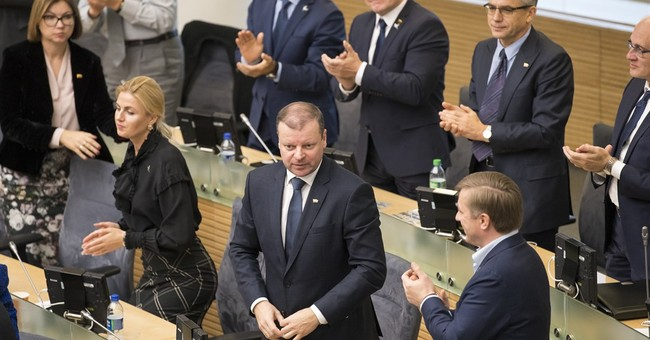 Former police chief approved as prime minister in Lithuania