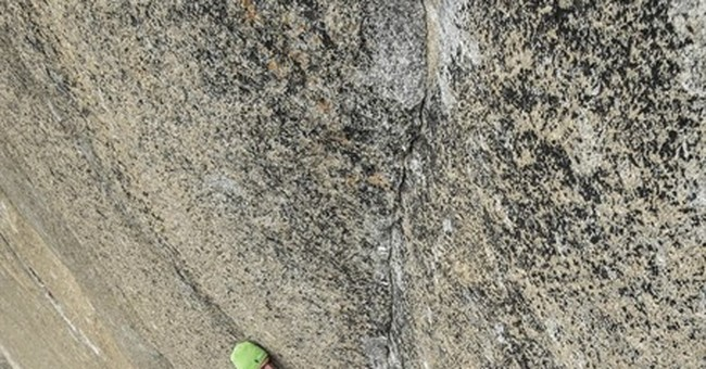 The Latest: Climber proud another broke his Yosemite record