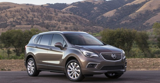America's first Chinese-built SUV is a Buick Envision