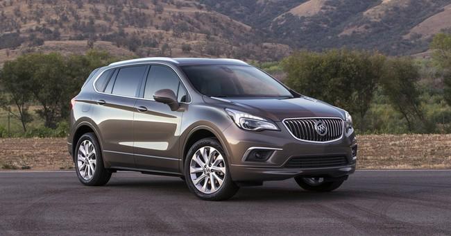 Fact sheet: 2017 Buick Envision