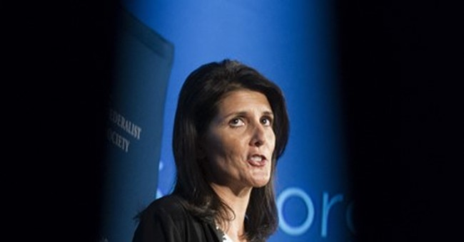 Trump's UN pick has a national reputation as healer-in-chief