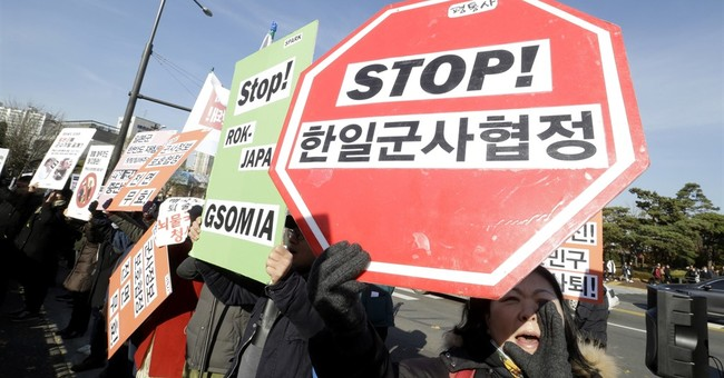 Intelligence-sharing pact between SKorea, Japan takes effect
