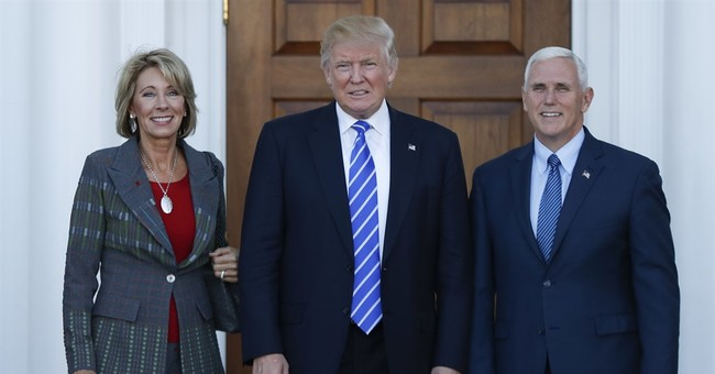 Trump's choice for education secretary is choice advocate