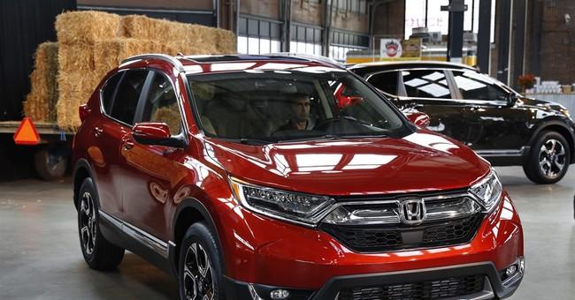 Honda starts production of new CR-V in Ohio