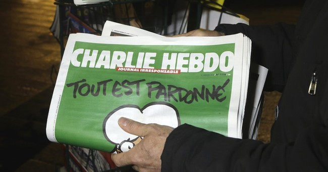Charlie Hebdo goes German