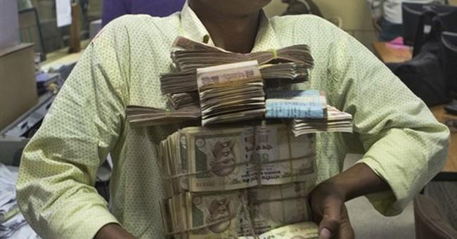 Indian bureaucrat with 'black money' stash: Bribes not taboo