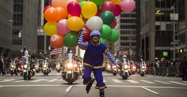 AP PHOTOS: A safe and secure Macy's Thanksgiving Day Parade