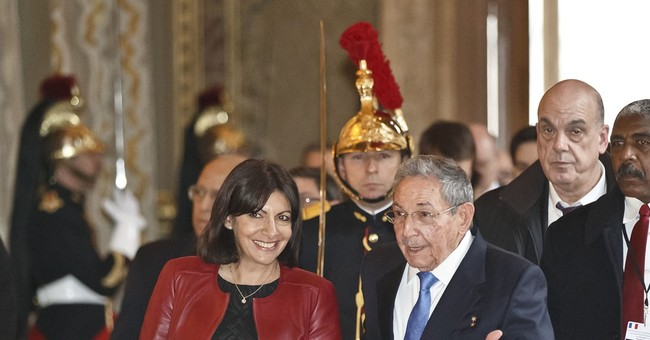 Castro meets with French officials to boost business ties