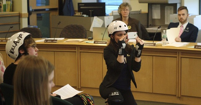 Roller derby advocates press for the right to hit in Maine