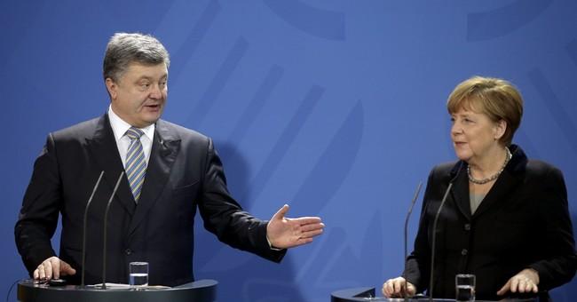 Germany's Merkel presses Putin on Ukraine separatists