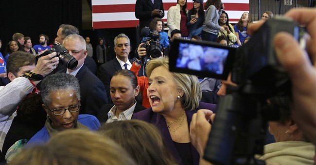 Clinton's narrow win sparks nervousness among supporters