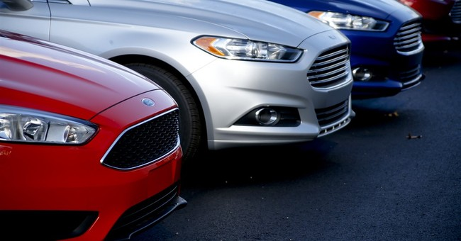 January US auto sales fall slightly due to storm