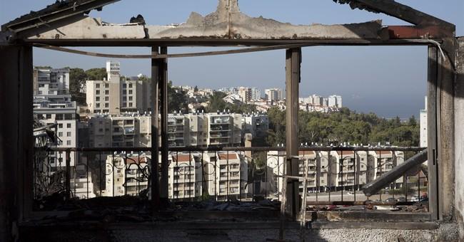 Haifa fire overcome but others rage elsewhere in Israel
