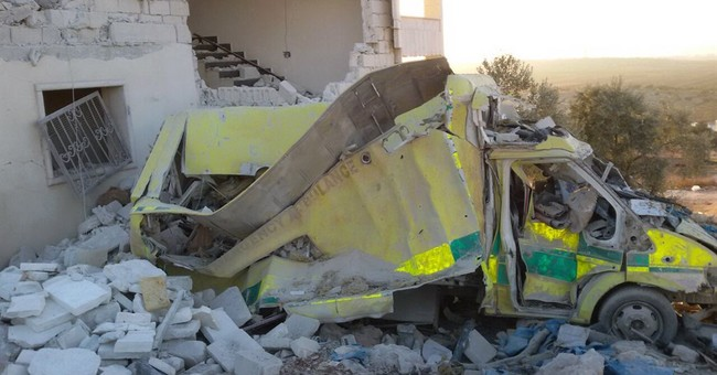 Activists: Bombs knock out 2 hospitals in northern Syria